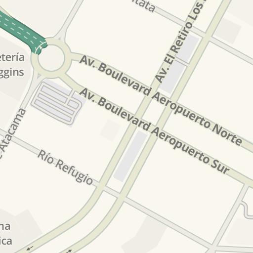 Waze Livemap - Driving Directions to Central de Carga