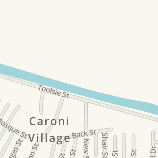 Waze Livemap Driving Directions To Caroni Preschool Caroni