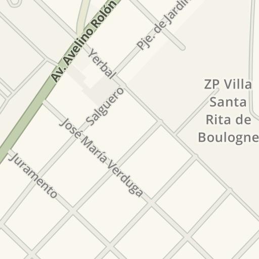 Waze Livemap - Driving Directions to ZP Villa Santa Rita de Boulogne ...