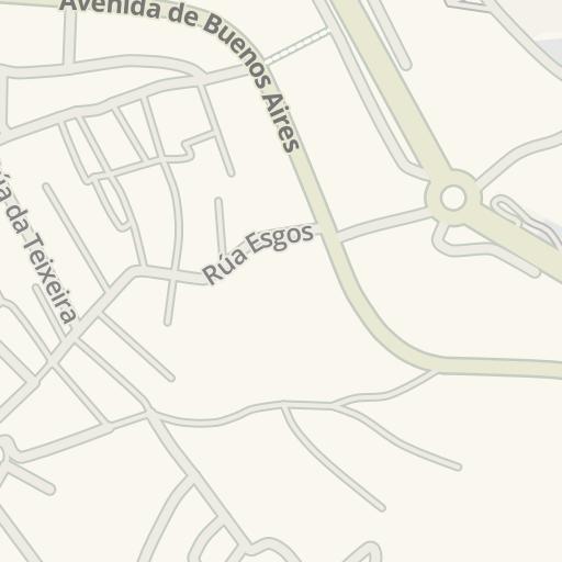 Waze Livemap Cómo Llegar A Ies As Lagoas Ourense España