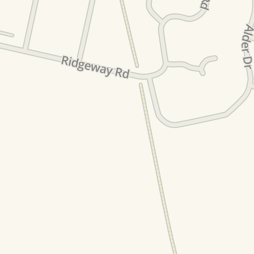 Waze Livemap - Driving Directions to Ridgeway Motors MOT Repairs, Timperley, United Kingdom