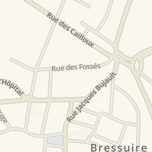 Waze Livemap - Driving Directions to V&B Bressuire, Bressuire ...