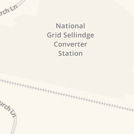 Driving Directions to National Grid Sellindge Converter Station