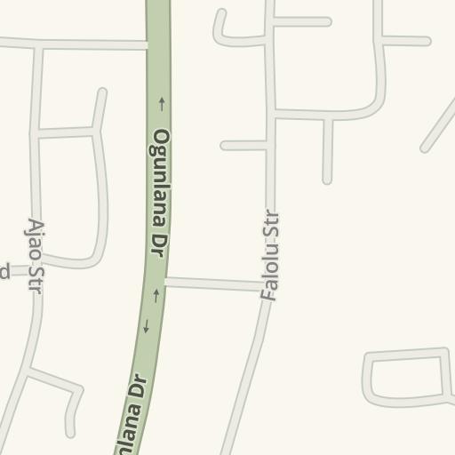 Driving Directions to Mt Sinai Hospitals Falolu, Lagos