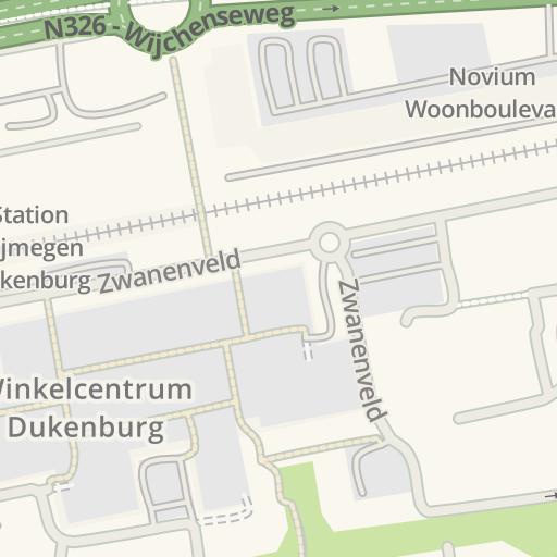 waze livemap - driving directions to bevolkingsonderzoek oost