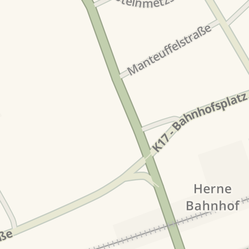 Waze Livemap Driving Directions To Möbel Piraten Herne Germany