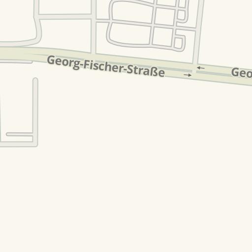 Waze Livemap Driving Directions To Braun Mobel Center Singen