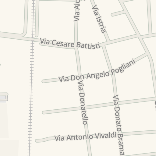 Waze Livemap - Cómo llegar a Fosters, Cesano Maderno, Italy