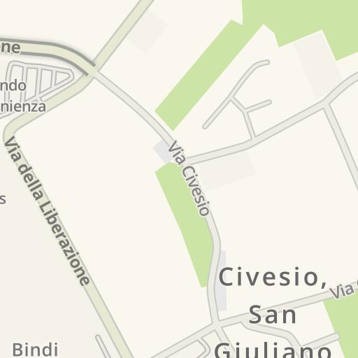 Waze Livemap - Driving Directions to Pianeta Casa Srl, San Giuliano ...