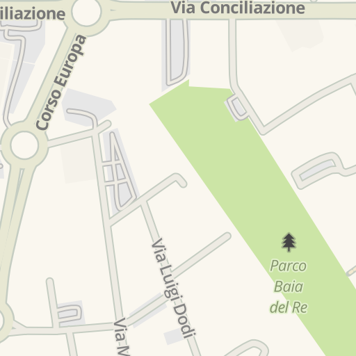 Waze Livemap Driving Directions To Piazzale Velleja Piacenza Italy