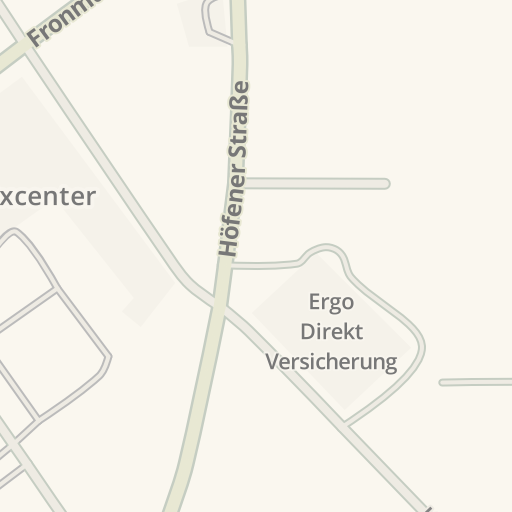 Waze Livemap Driving Directions To Dehner Gartencenter Fürth Germany