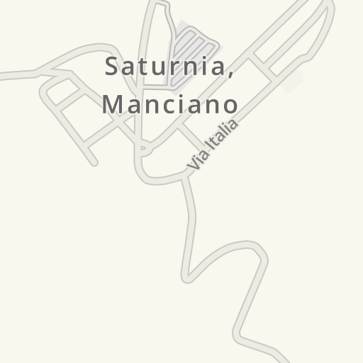 Waze Livemap Driving Directions To P Area Sosta Camper Saturnia