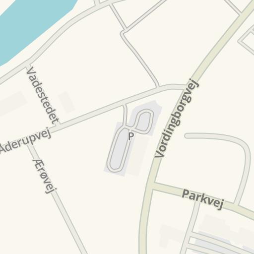 Waze Livemap - Driving Directions to Netto Næstved, Næstved, Denmark