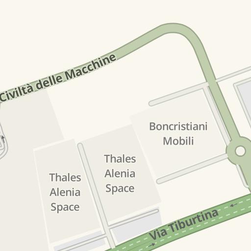 Boncristiani Mobili Via Tiburtina Roma.Driving Directions To Residence Sant 39 Alessandro Roma