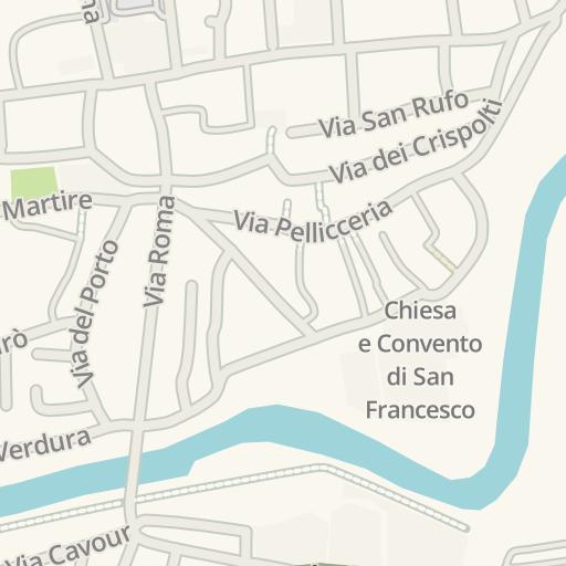 Rieti Italy Map.Waze Livemap Driving Directions To Ipermercato Extra Rieti Italy