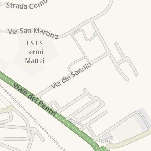 Isernia Italy Map.Waze Livemap Driving Directions To Lidl Isernia Italy