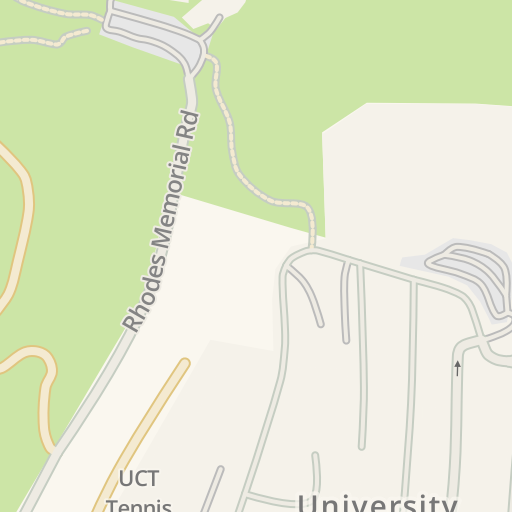on uct campus map
