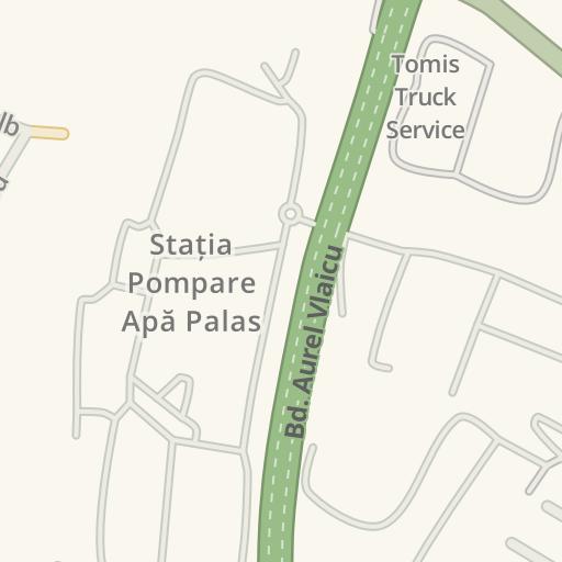 Waze Livemap Driving Directions To Poligon De Tragere Zip Escort