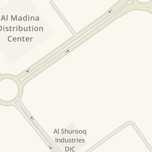 Driving Directions to Al Madina Distribution Center, Dubai
