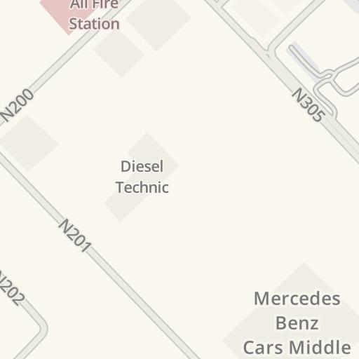 Driving Directions to MFL Logistics, Jebel Ali Free Zone