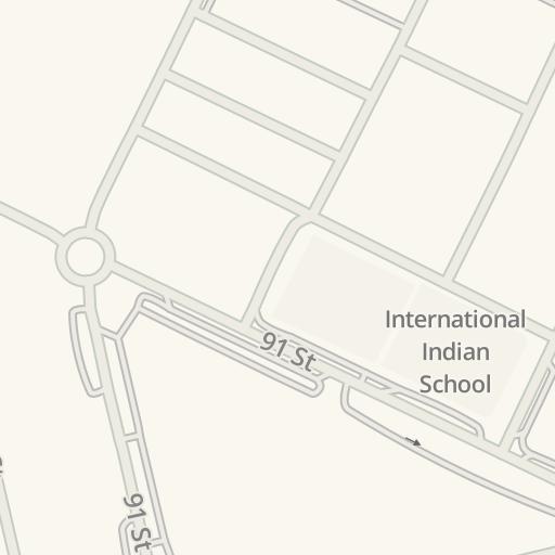 Driving Directions to Scoop Ice Cream, Ajman, عجمان, United