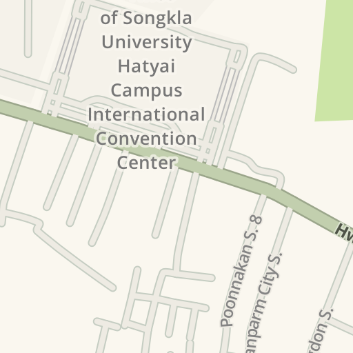 Waze Livemap - Driving Directions to Prince of Songkla University ...