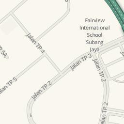 Waze Livemap Driving Directions to Elements Badminton Center
