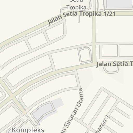 Driving Directions to Fuji Xerox Taman Setia Tropika, Johor Bahru