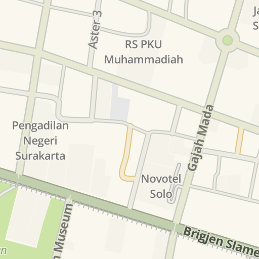 Waze Livemap - Driving Directions to 3Store Solo, Surakarta, Indonesia