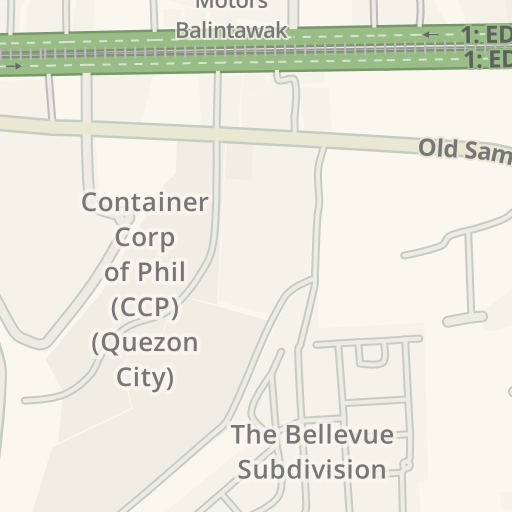 Driving Directions to Apolonio Samson Barangay Hall, Quezon City