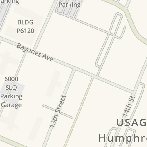 Camp Humphreys Map on