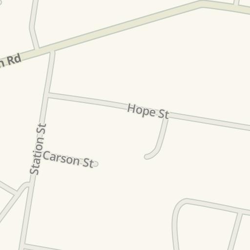 Waze Livemap - Driving Directions to Telstra Exchange, Pymble, Australia