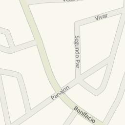 Waze Livemap Driving Directions to Constancio Padilla National