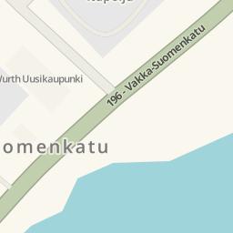 Driving directions to Rautia Uusikaupunki Uusikaupunki Finland