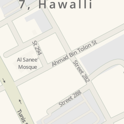 Driving directions to Alene Valencia Block 7 Hawalli Kuwait